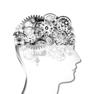 """Brain Design By Cogs And Gears"" by MR LIGHTMAN"